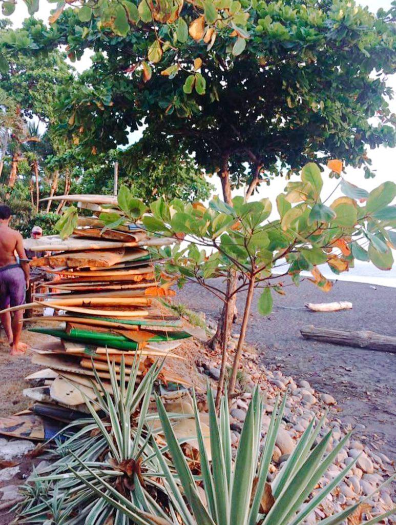 Costa Rica sur le bord de mer