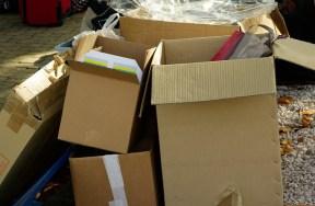 cartons, home- organising
