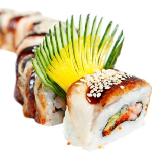 Le dragon roll
