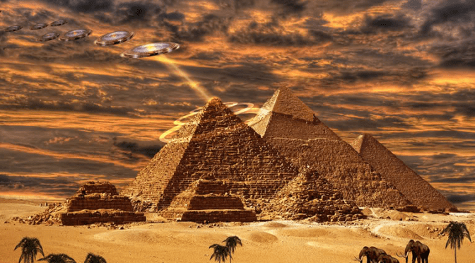 FLYING SAUCERS, U.S. INTELLIGENCE, SINISTER FORCES, AND THE NINE (ENNEAD)