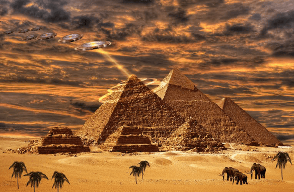 ANCIENT ALIENS - FOREBEARS OF HUMANKIND RELIGIONS?
