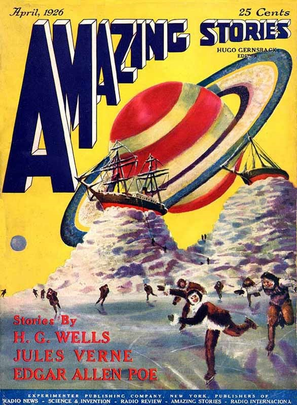 AMAZING STORIES - April 1926 Edition