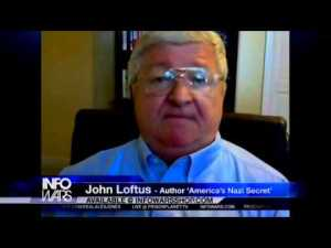 John Loftus, author of AMERICAS NAZI SECRET on Alex Jones' Infowars