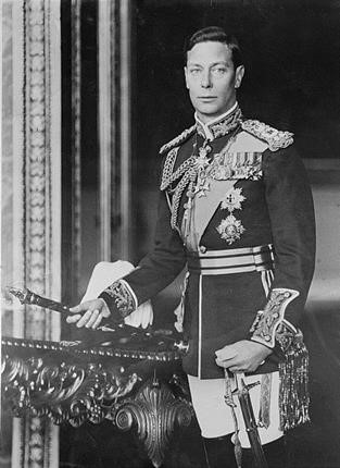 King George VI, i.e., of The King's Speech