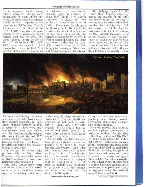 PROPHECY IN THE NEWS ARTICLE MAY 2015 PG.2