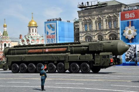 RUSSIA ADDS 40 MORE NUCLEAR ICBMS TO ITS ARSENAL, JUNE 2015