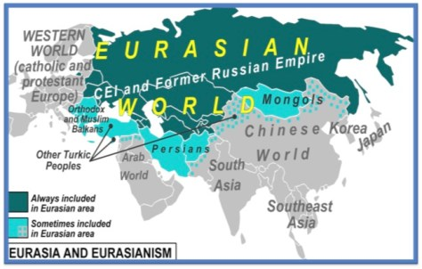 Eurasia - The Lands of the Sons of Japheth
