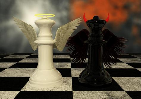 The Chess Match between Light and Darkness