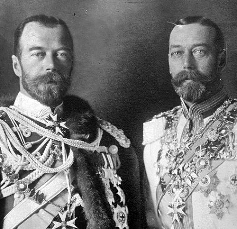 King George of England, Czar Nicholas of Russia: Cousins who Could Be Twins