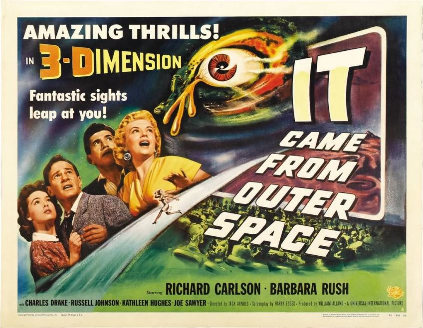 "THE FIRST 3D MOVIE EVER... INSPIRED BY THE ""FLAP"""