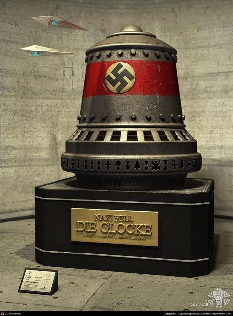 The Nazi Bell -- A Time Machine?