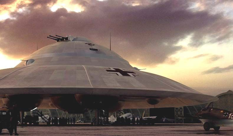 YES, THE NAZIS DID BUILD FLYING SAUCERS, BUT WHEN DID THEY STOP?