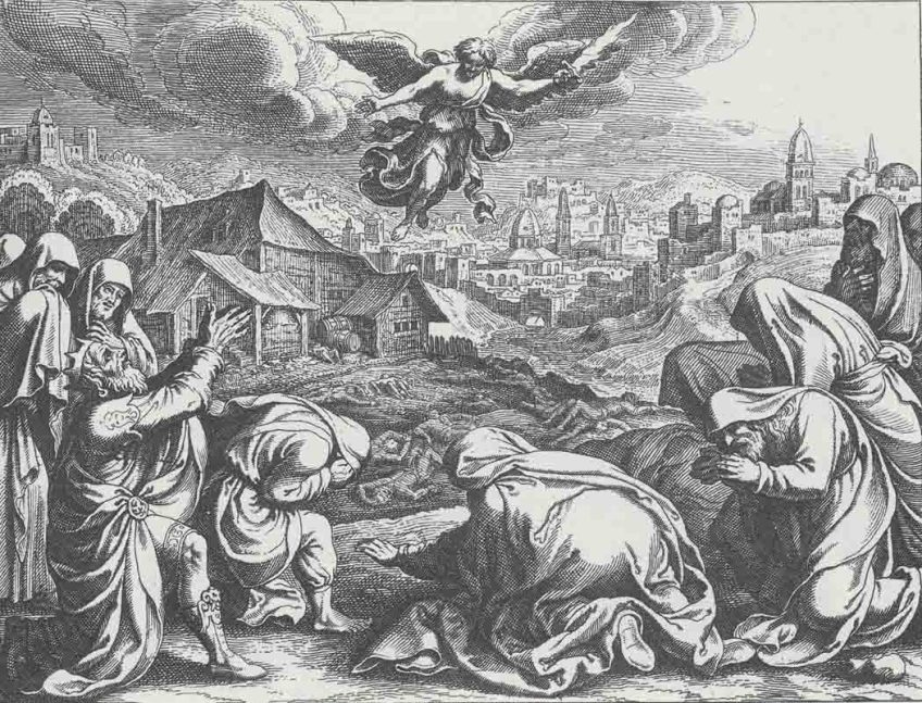 Angel of the Lord over Jerusalem