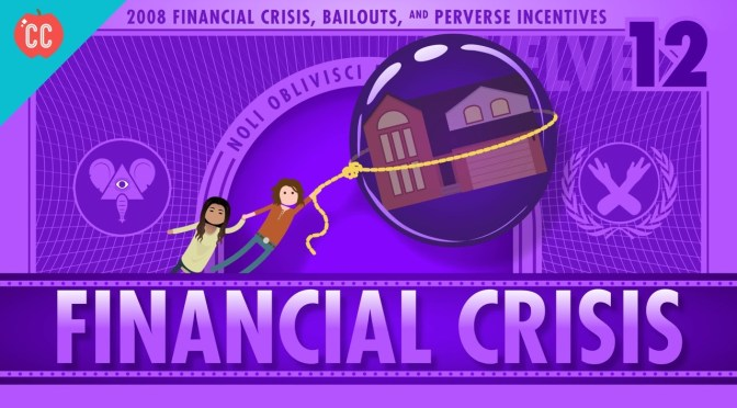 ON BANKERS AND BAILOUTS — A MORAL HAZARD WE HAVE TO LIVE WITH?