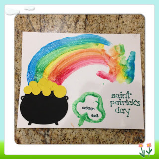 ACTIVITY: Handprint Rainbow and Pot o' Gold