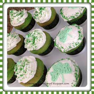 RECIPE: Saint Patrick's Day Cupcakes