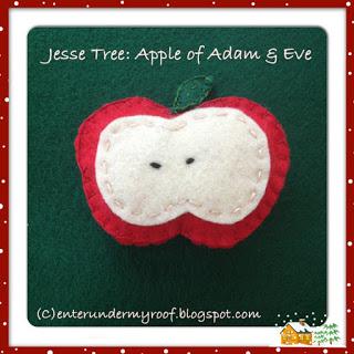 ACTIVITY: Jesse Tree Ornament – Apple