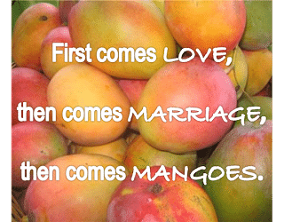 HSN: First Comes Love, Then Comes Marriage, Then Comes…Mangoes by Liz Bartling