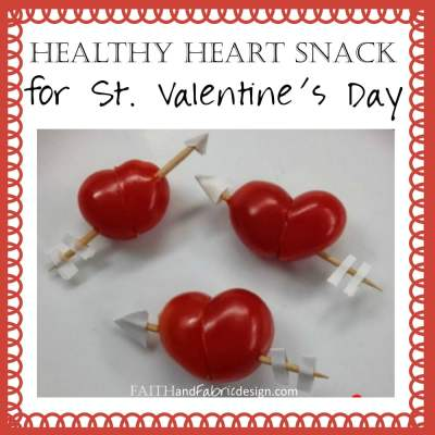 RECIPE: Healthy Valentine's Day Heart Snacks