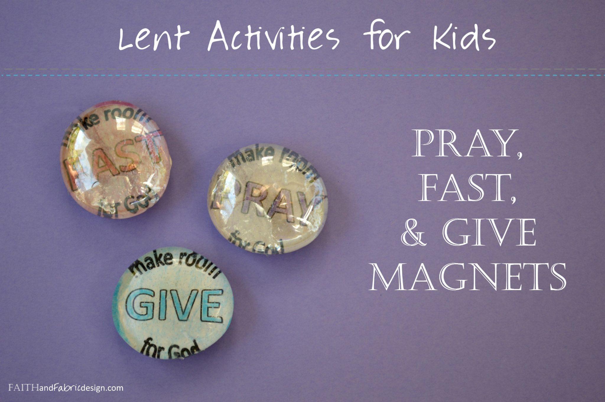 Activity Make Room For God Lent Activity Stones Faith And Fabric