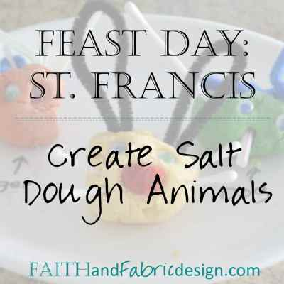 Feast of Saint Francis Craft for Kids