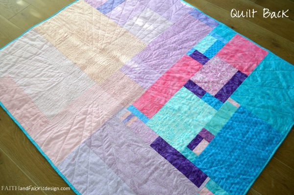 Faith and Fabric - Christian Easter Quilt Pattern - Risen Back