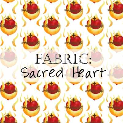 Fabric: Sacred Heart