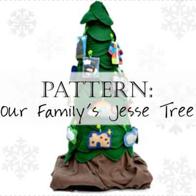 Our Family's Jesse Tree: an Advent eBook with Jesse Tree Ornaments Templates, Devotions, and Activities