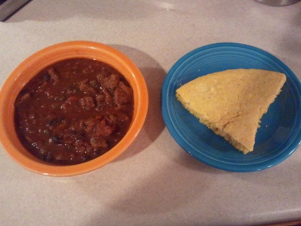 Gluten Free Chili and Cornbread