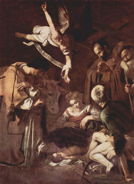 Caravaggio's 'Nativity with Saint Francis and Saint Lawrence'