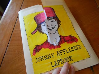 Our First Lapbook: Johnny Appleseed