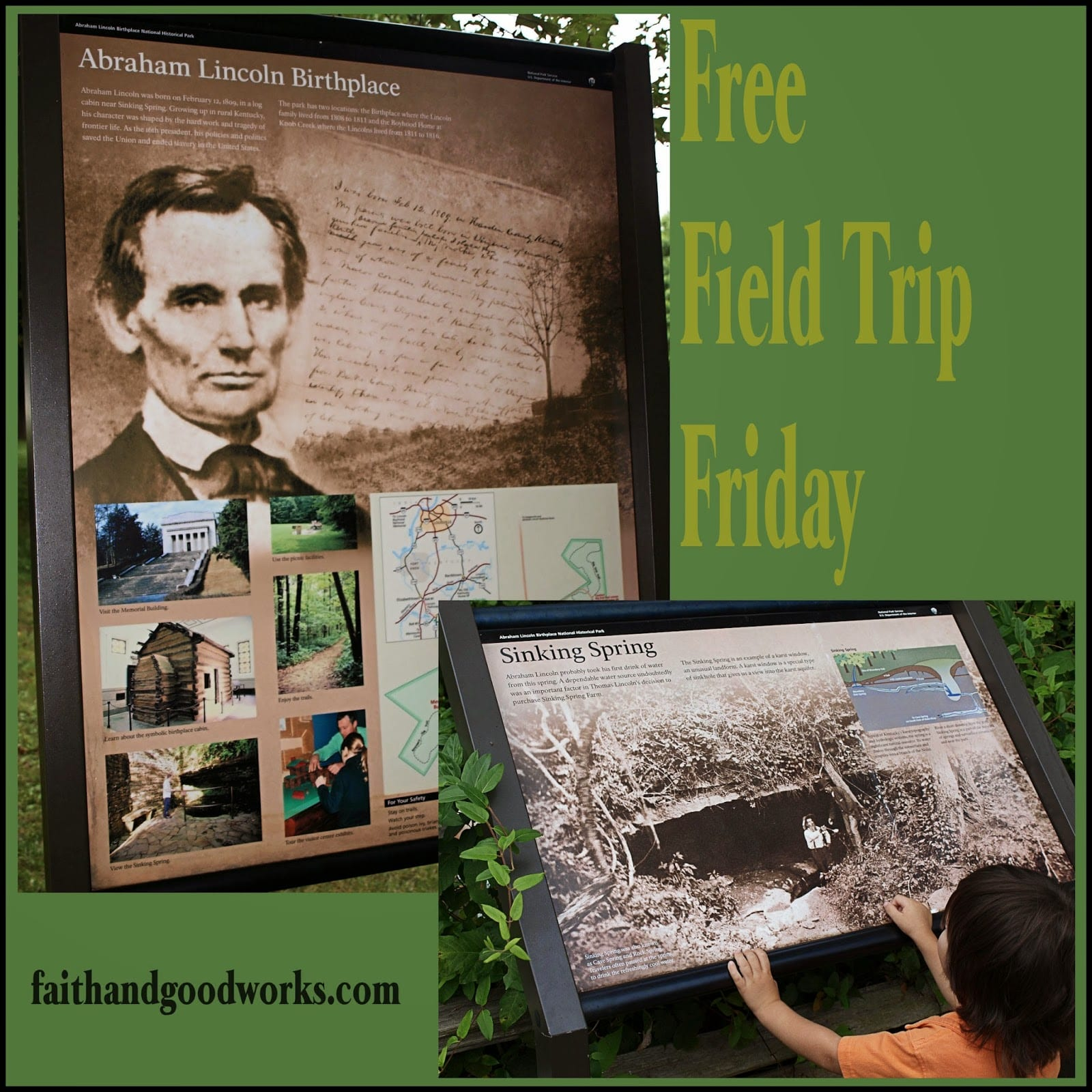 Field Trip Friday: Abe Lincoln Birthplace
