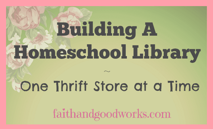 Building a Homeschool Library ~ October
