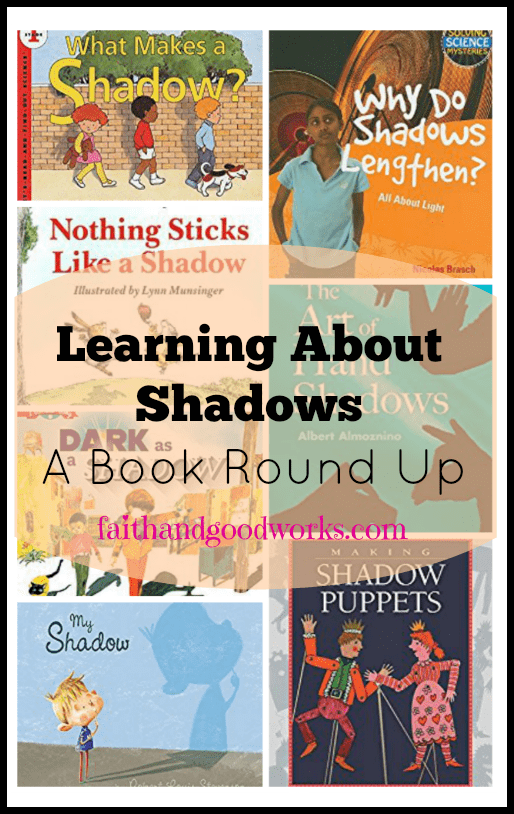 Learning About Shadows {A Book Round Up} + Groundhogs Day Resources