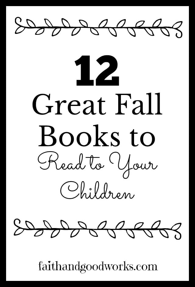 12 Great Fall Books to Read to Your Children