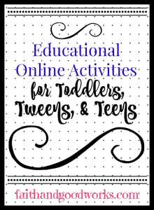 Educational Online Activities