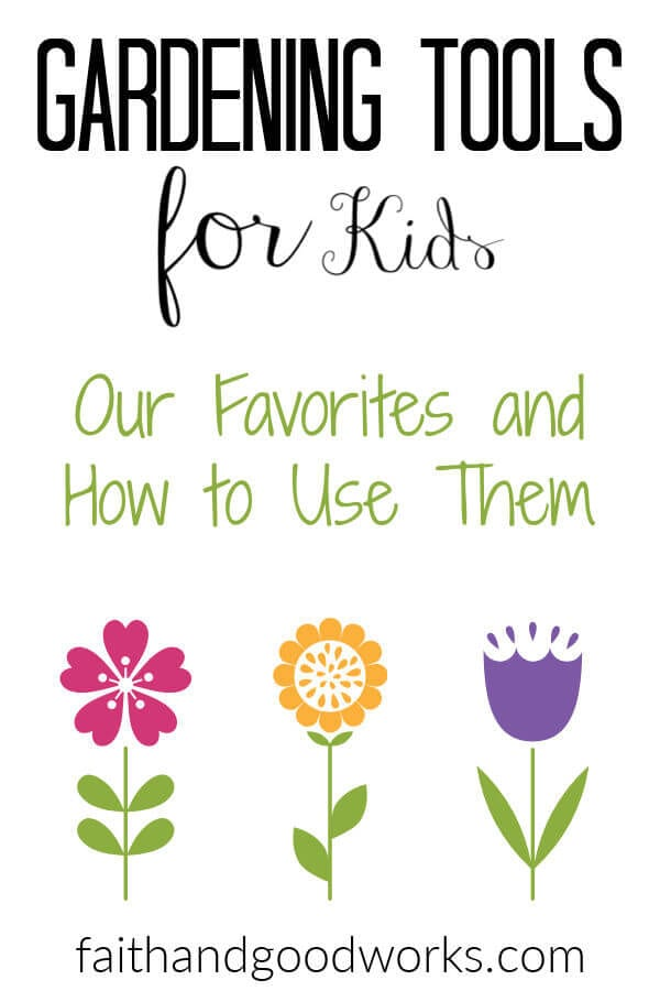 Favorite Gardening Tools for Kids