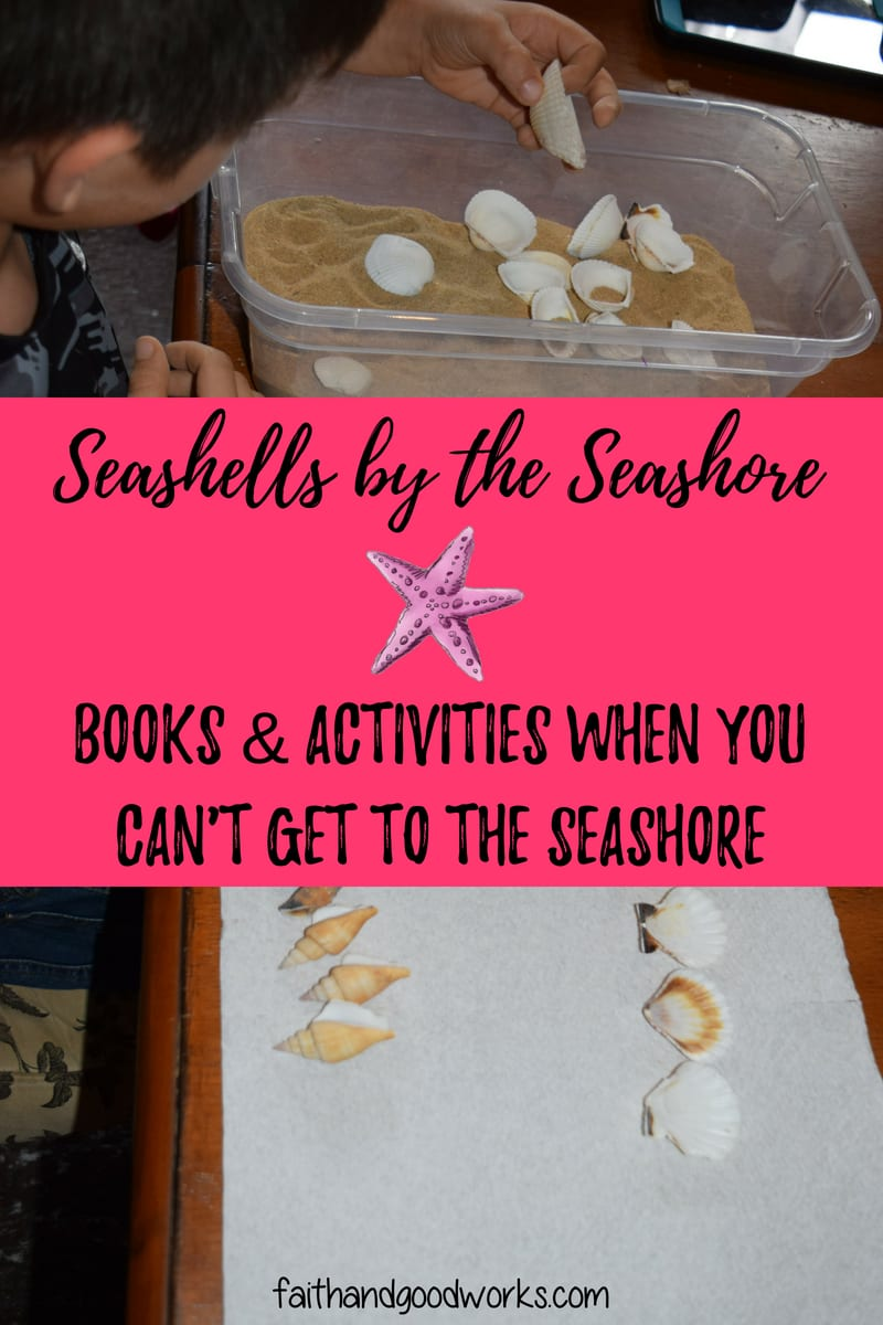 Seashells by the Seashore Books & Activities | Free Notebooking Pages