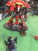 Abaddon takes on an Imperial Knight