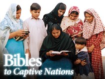 Bibles to captive nations