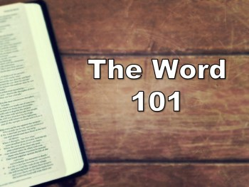Permalink to: The Word 101