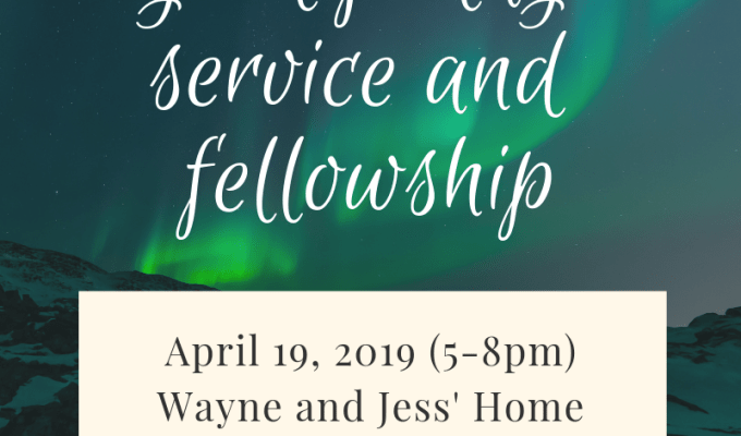 Good Friday Service and Fellowship
