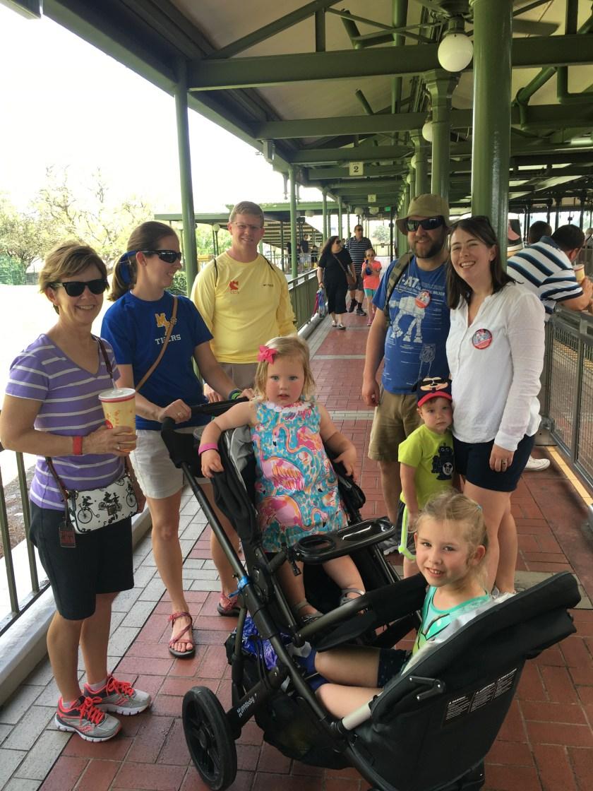 Disney World, May 2016 - Stroller Packing List