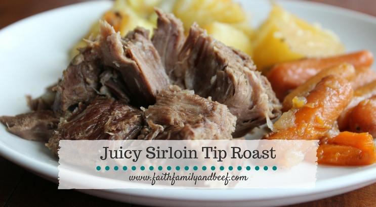 Juicy Sirloin Tip Roast