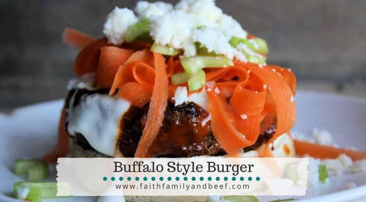 Buffalo Style Burger