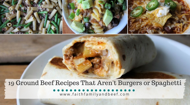 19 Ground Beef Recipes That Aren't Burgers or Spaghetti