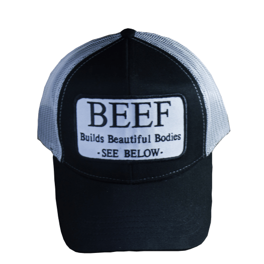 Beef Builds Beautiful Bodies Patch Hat - Shop FFB