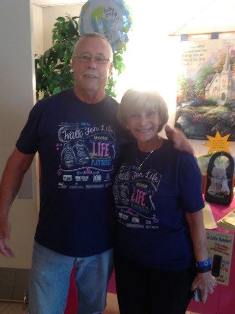Missions Domestic New Life Solutions Walk for Life Jerry Hurt and Gail Friedman-Barrett