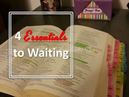 essentials to waiting