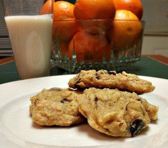 Cranberry-Orange Yogurt Cookies